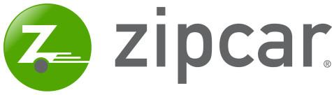 Zipcar Logo New Shield Horizontal (grey letters)