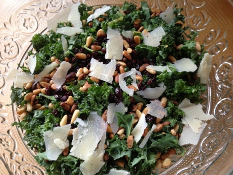 Gusto 101 kale salad knockoff: