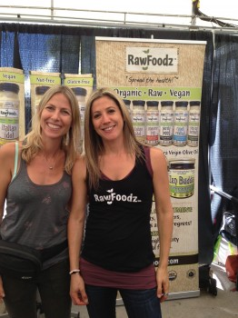The brains and beauties behind Rawfoodz.