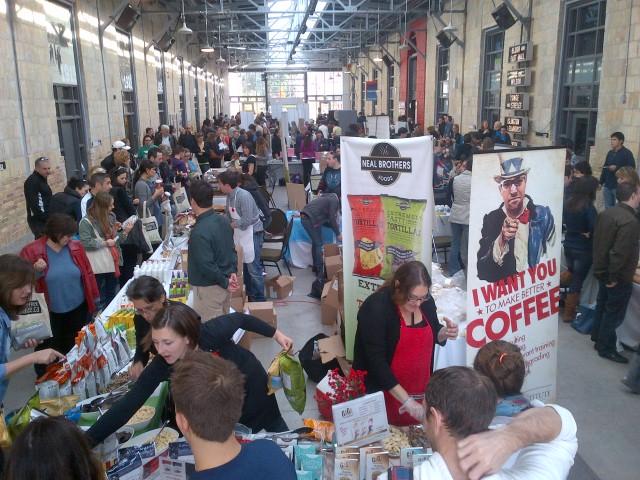 The inaugural Gluten Free Garage, November 11, 2012