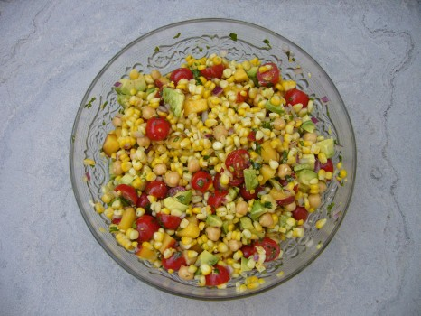 Mission #35: Win Friends with Salad / Corny salad