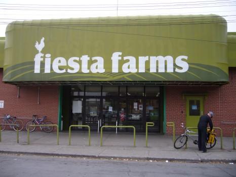 Inside the store, it literally is a gluten-free fiesta!