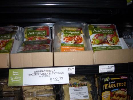 Antipastos Kitchen's new line of frozen pastas.