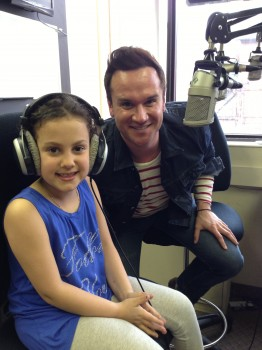 Lily, aka the GFG muse, made her radio debut with Mike Chalut on 103.9 Proud FM.