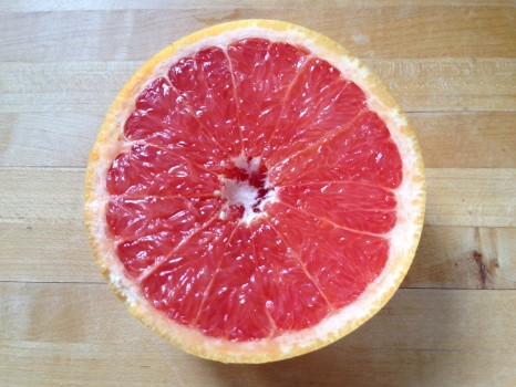 While we're on the topic of citrus, sweet, juicy pink grapefruit made me happy and also helped decrease my sugar cravings!