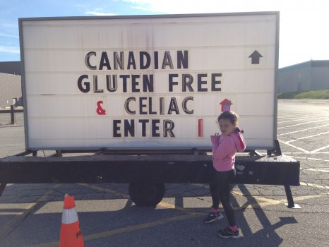 Way back in June, my girl Lily and I went to the Canadian Celiac Association's national conference.