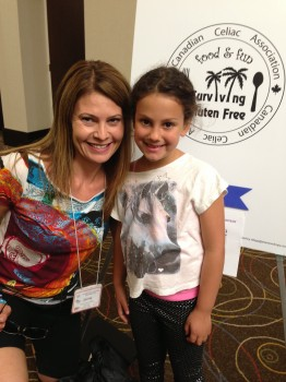 Jaime Plain, the fearless youth program coordinator, put together a fantastic weekend for kids with celiac.
