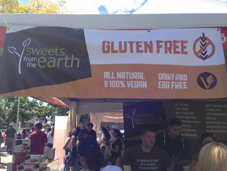 "The words ""gluten free"" beckoned us to Sweets from the Earth."