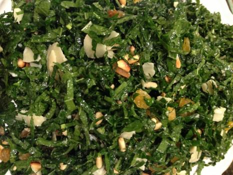 Kale salad is