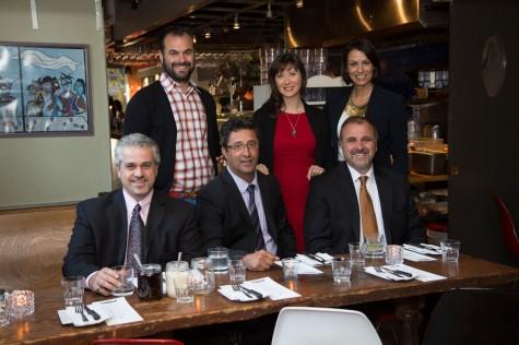 The Italpasta team with holistic nutritionist and health educator Julie Daniluk