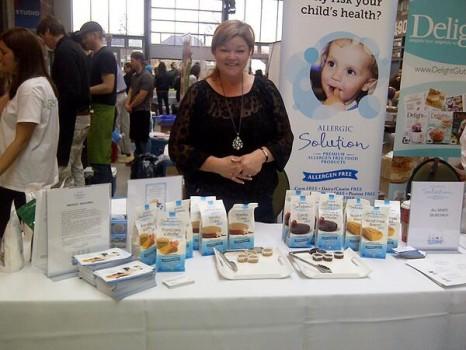 Allergic Solution's Tammie Sarra at the Gluten Free Garage