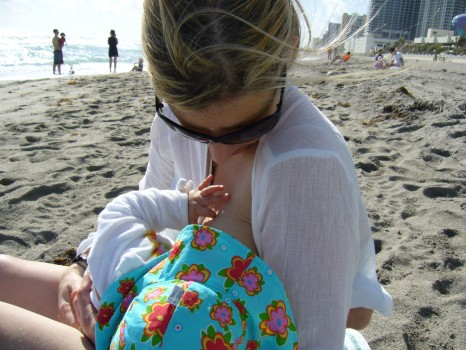 I read that breastfeeding could possibly protect your baby against the development of celiac disease, but doing it for more than 12 months could increase the risk of celiac. I had breastfed Lily for 10 months.