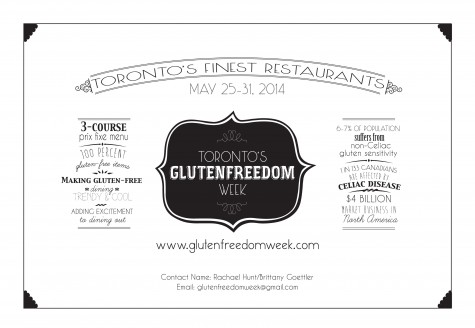 GlutenFreedom TO Save The Date