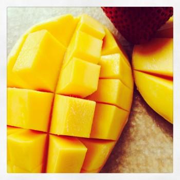 Mango hedgehog