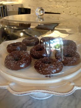 These chocolate donuts were my life.