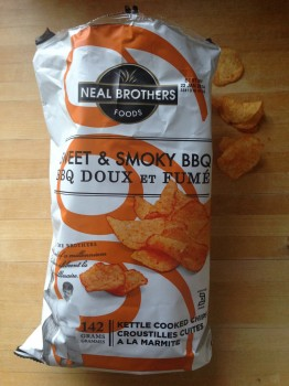 You can also kick it old-school and eat these chips right out of the bag!