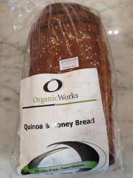 Lucky for us, FEAST now carries Organic Works Bakery's bread!
