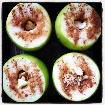 Baked apples before shot #comfortfood