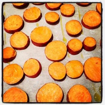 Can't. Stop. Roasting. #sweetpotatoes